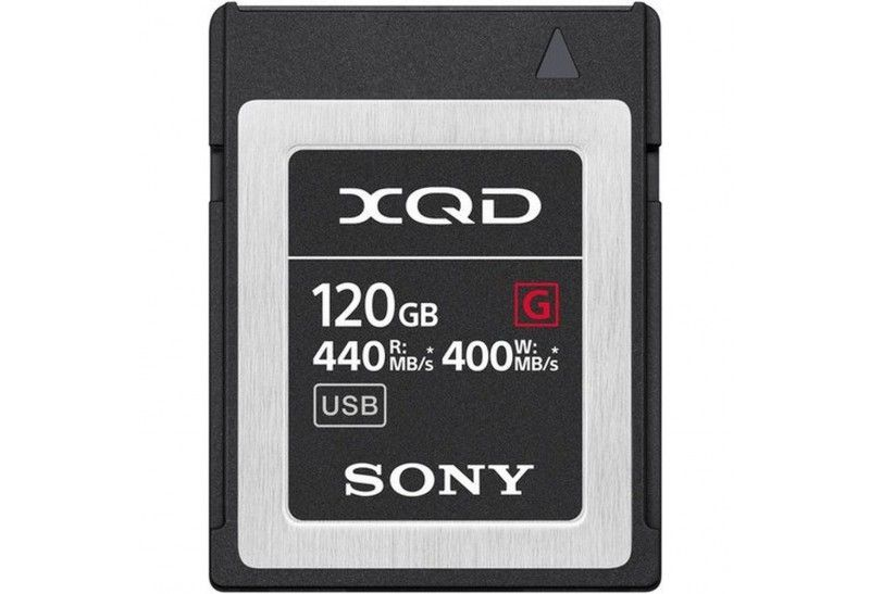 Sony Tarjeta Memoria XQD 120Gb Sony High Speed Prof. R440 W400
