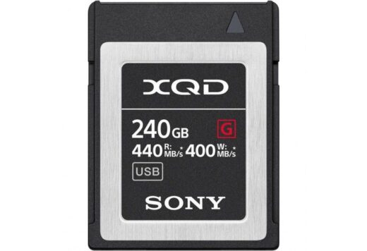 Tarjeta Memoria XQD 240Gb Sony High Speed Prof. R440 W400 | QDG240F