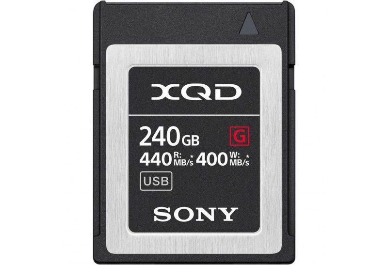 Sony Tarjeta Memoria XQD 240Gb Sony High Speed Prof. R440 W400