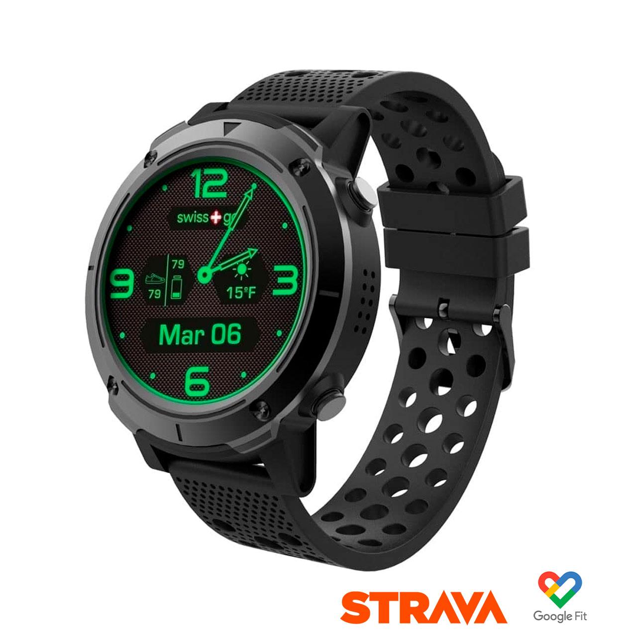 Swiss+Go Smart Watch Zermatt Pantalla IPS 1,3 pulg. Táctil, GPS