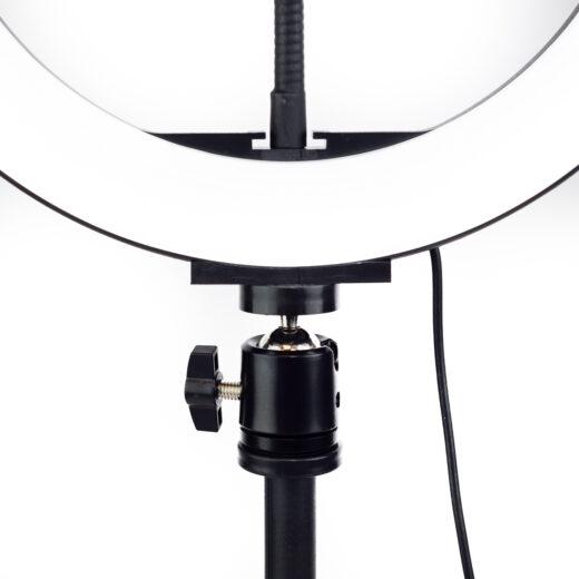 Aro de luz led swiss+go 26 cm para móvil  + Trípode Negro | SWI302115