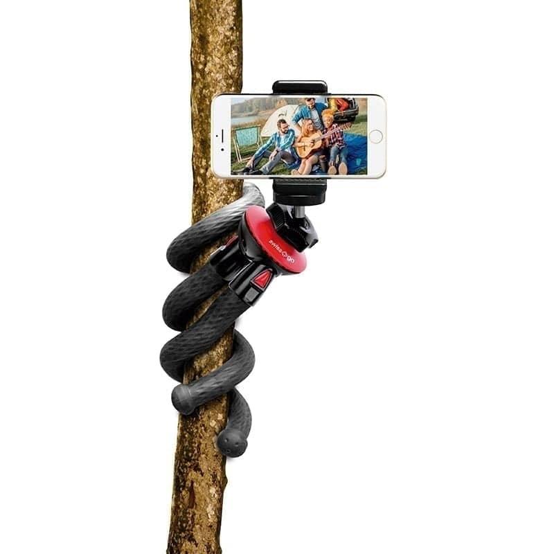 Swiss+Go Trípode Advance-10 Flexible 360º, 28,5 cm, 224 gr.