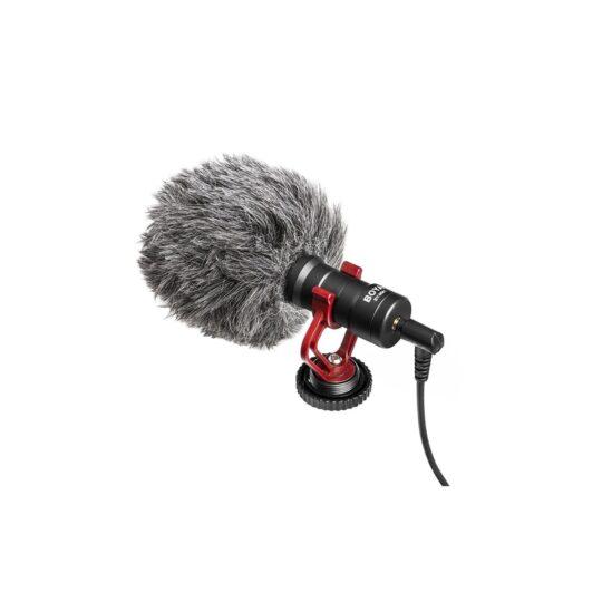 Micrófono Boya BY-MM1 de Cañón sobre cámara Cardioide