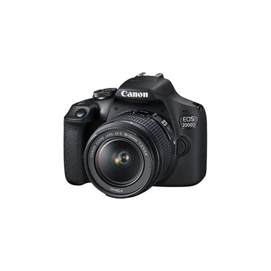 Cámara Reflex Canon Eos 2000D Objetivo 18-55mm DC