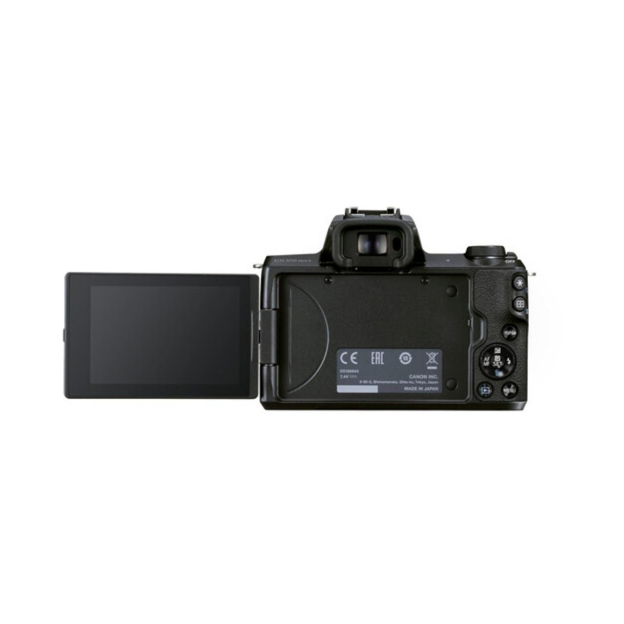 Canon Cámara Evil Eos M50 Mark II + EF-M 15-45mm F3.5-6.3 IS STM Negra