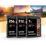 Tarjeta Memoria Lexar SDHC 32Gb  Profesional 95Mb/s, UHS-I, U1, V10