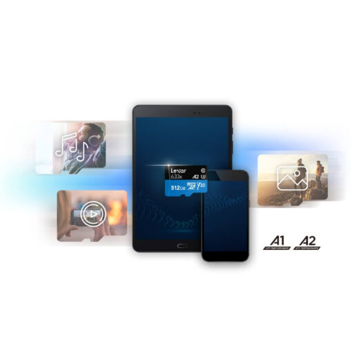 Tarjeta Memoria Lexar Micro SDHC 32Gb  Profesional 95Mb/s, UHS-I, U1, V10   ASDMI32GBEU633A