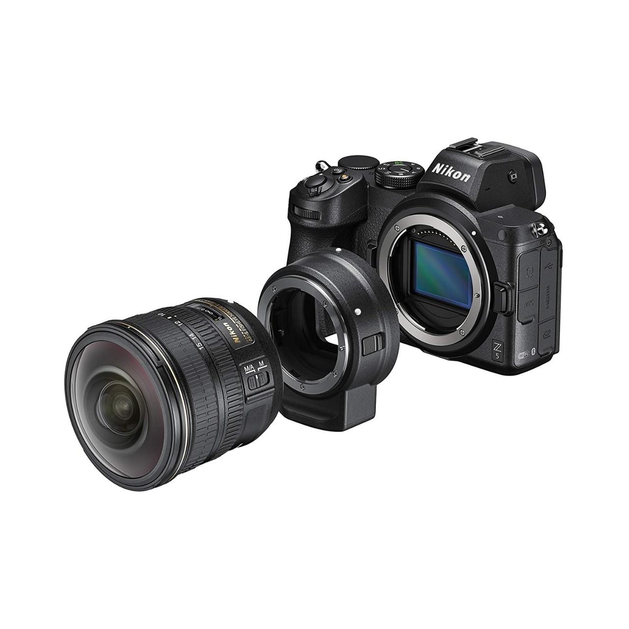 Nikon Cámara Evil Z5 + Objetivo Z 24-50mm + Adaptador FTZ Kit