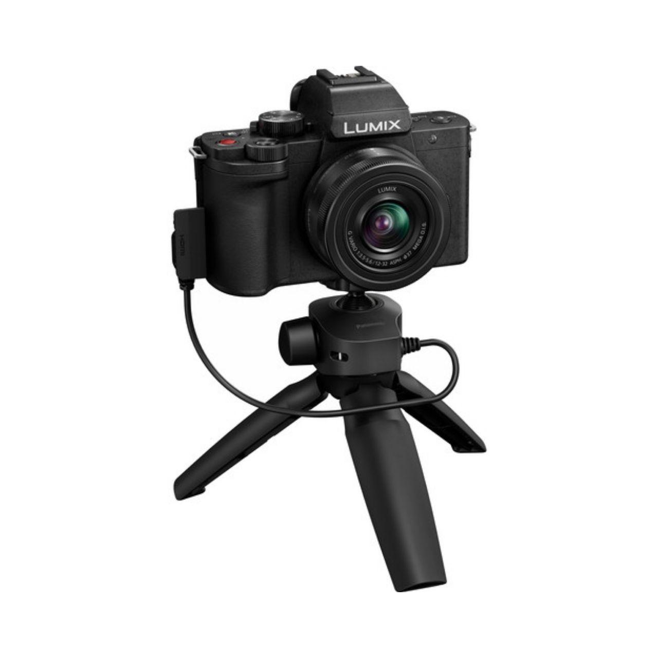 Panasonic Cámara Evil Lumix G100VEC-K Negra Obj. 12-32mm + Trípode SHGR1 (sds)