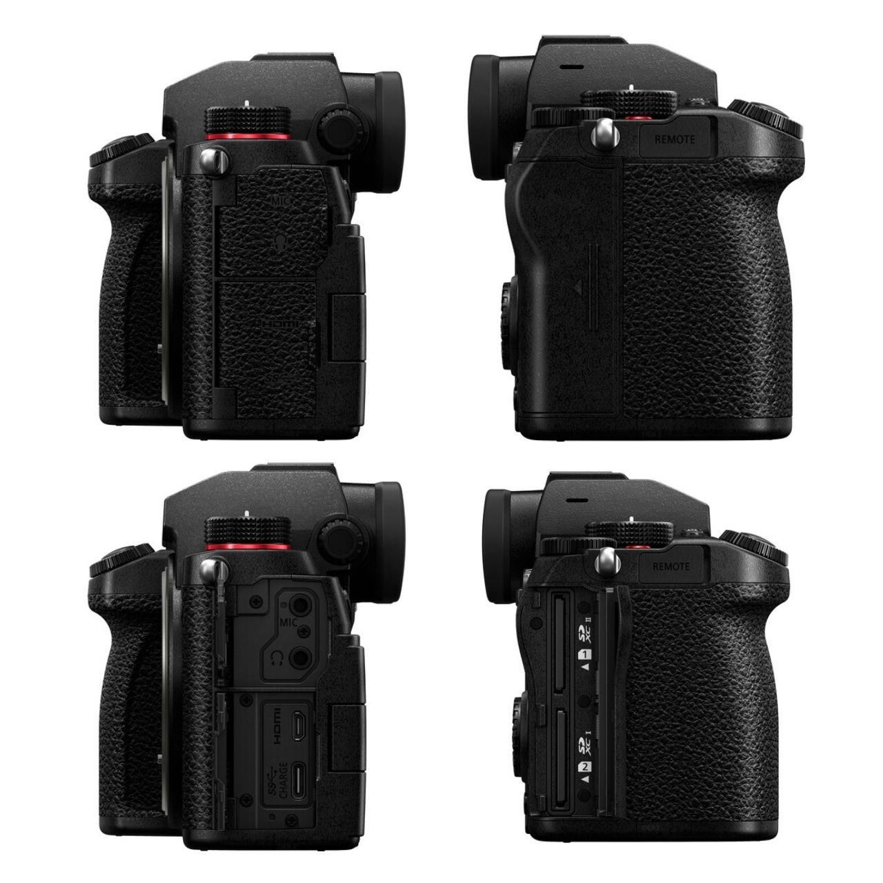 Panasonic Cámara Evil Lumix S5 + Objetivo 20-60mm Negra