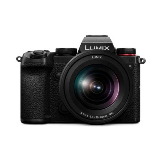 Cámara Evil Panasonic Lumix S5 + Objetivo 20-60mm Negra