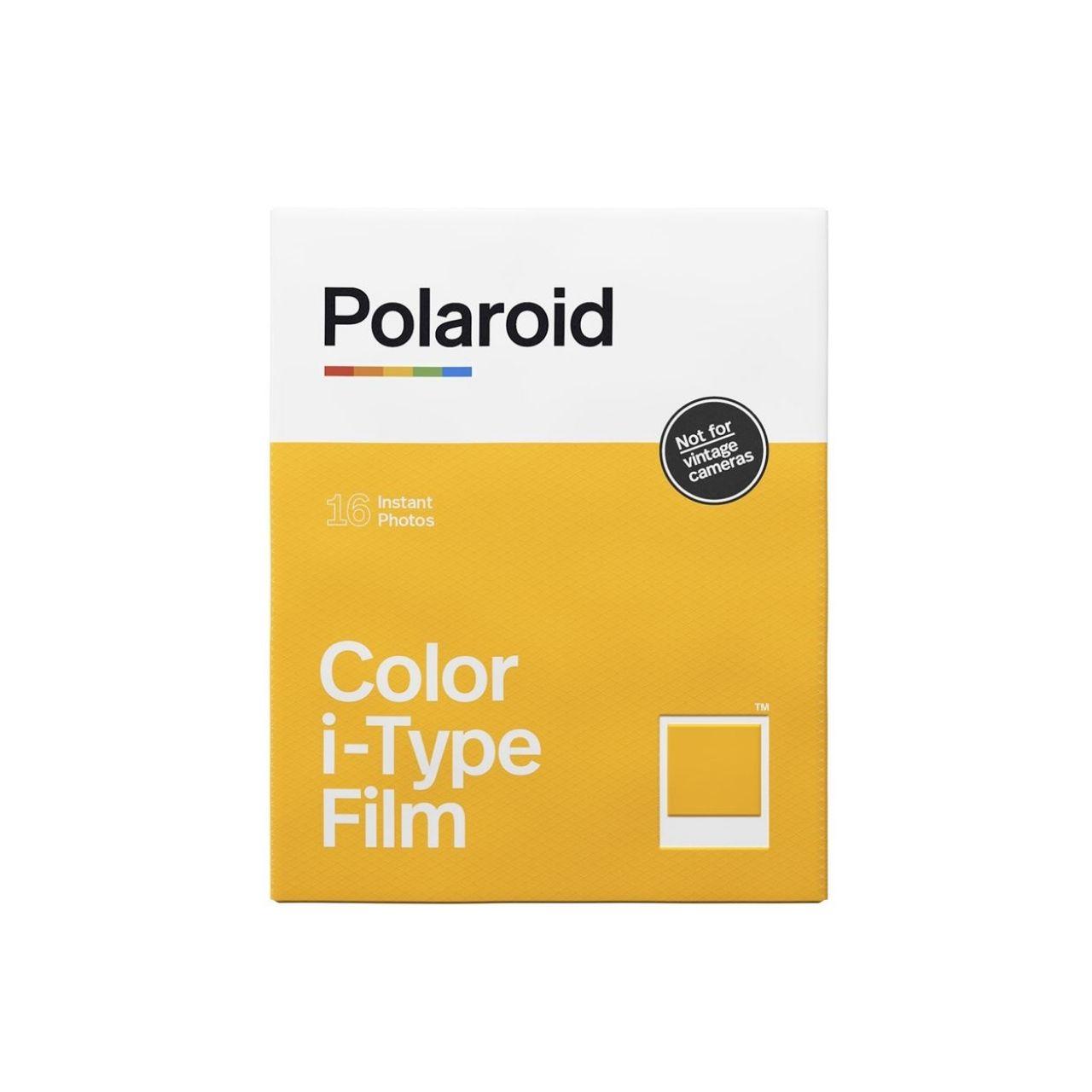 Polaroid i-Type Película Instant Color Bipack 16 Fotos