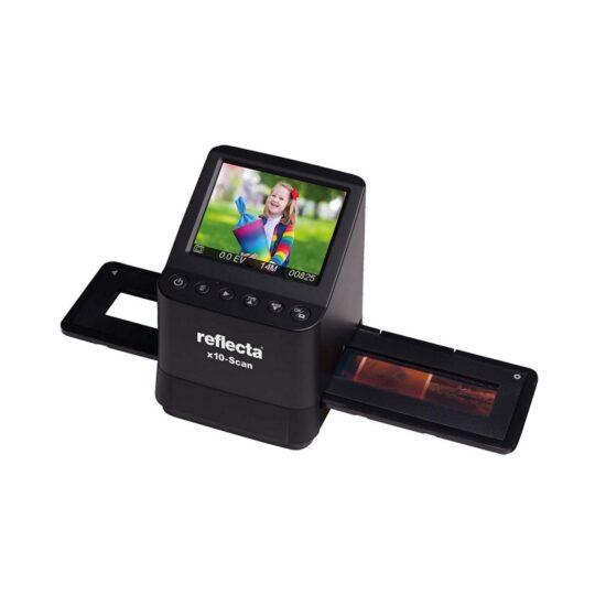 Escáner Reflecta x10 pantalla 14 MP, LCD 3,5 pulg.
