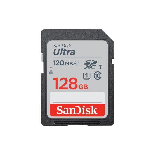 SanDisk Tarjeta Memoria SDXC 128Gb Sandisk Ultra 120Mb/s Clase 10 imaging