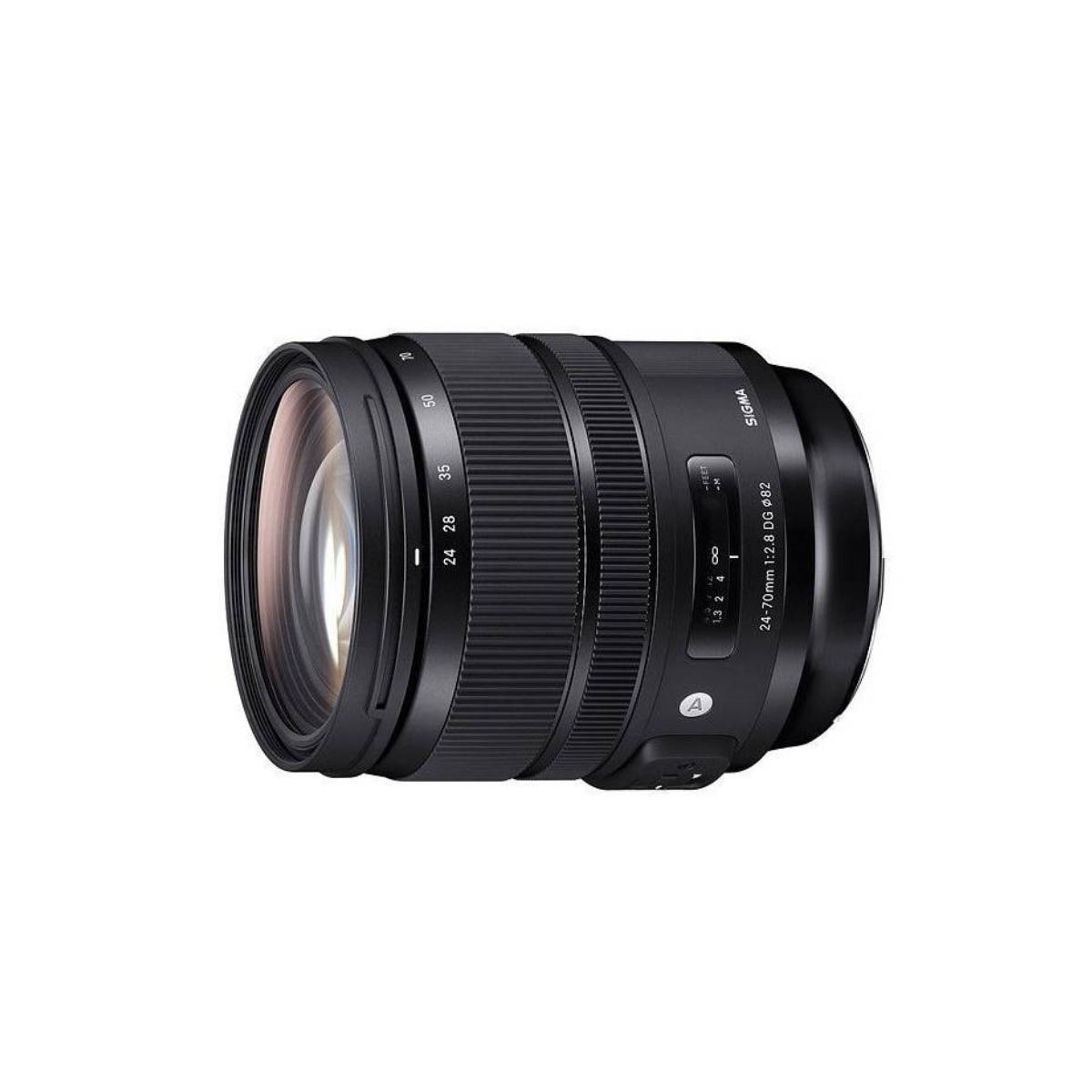 Sigma Nikon Objetivo Pro 24-70mm f/2.8 DG AF OS HSM Art