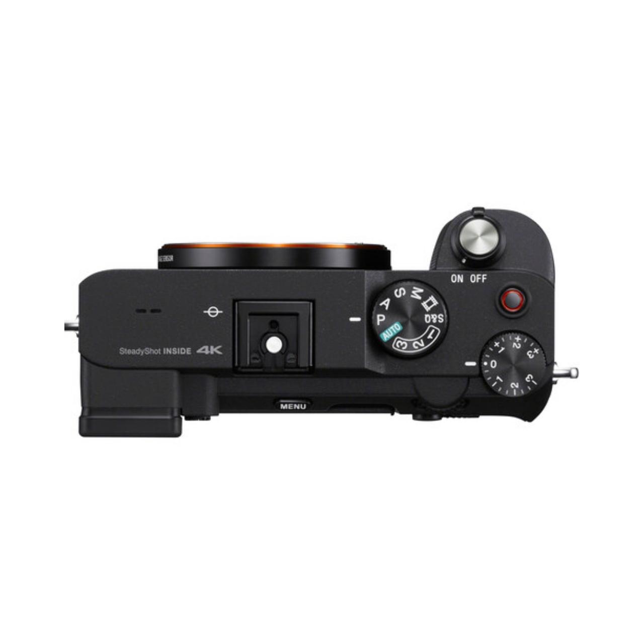 Sony Cámara Evil Alpha 7C ILCE-7CS Plata Cuerpo + Bolsa LCSX10