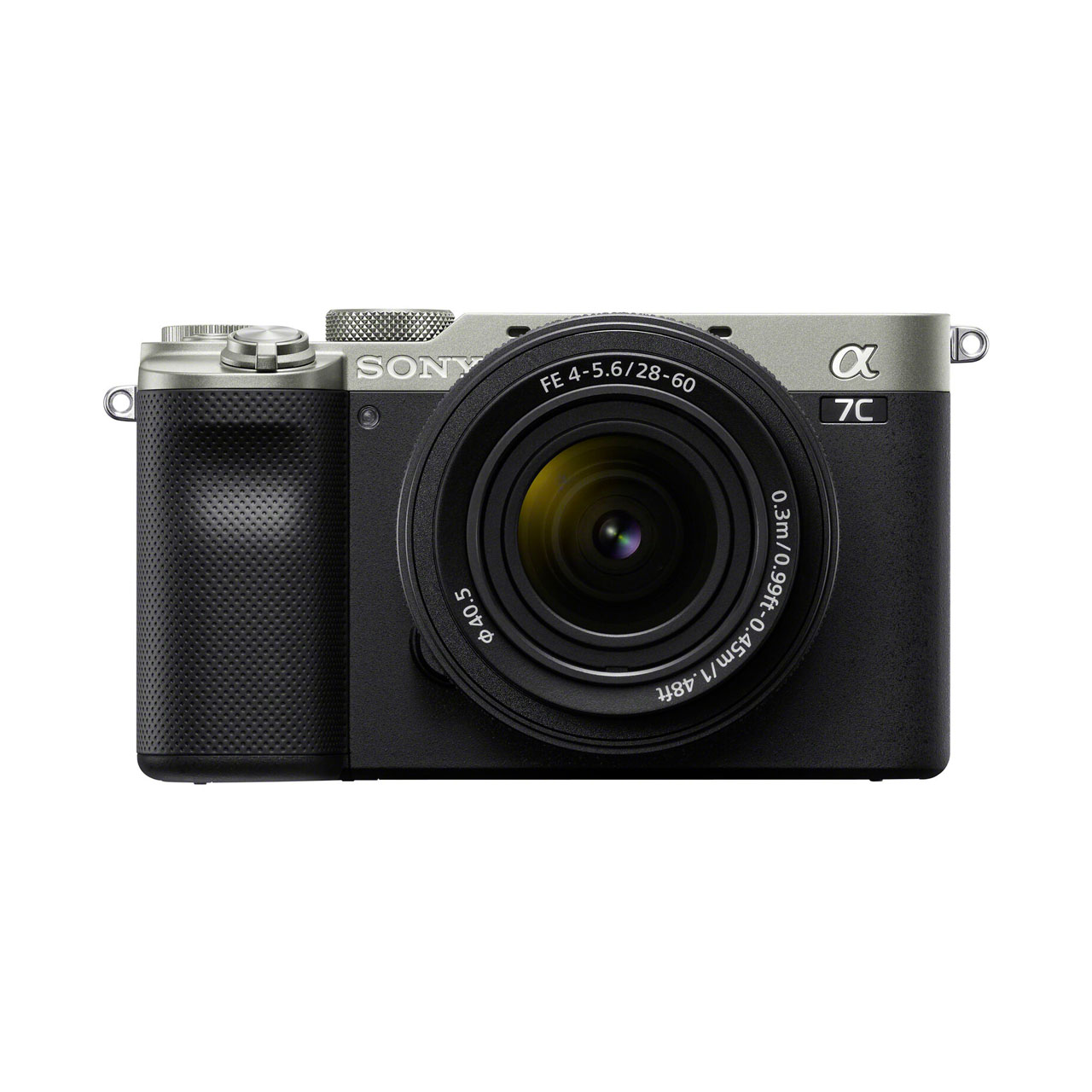 Sony Cámara Evil Alpha 7C ILCE-7CLS Plata Objetivo 28-60mm + Bolsa LCSX10