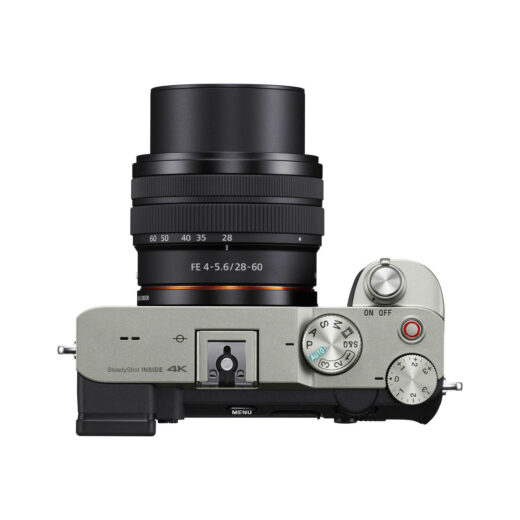 Cámara Evil Sony Alpha 7C ILCE-7CLS Plata Objetivo 28-60mm + Bolsa LCSX10 | ILCE7CLS.CEC
