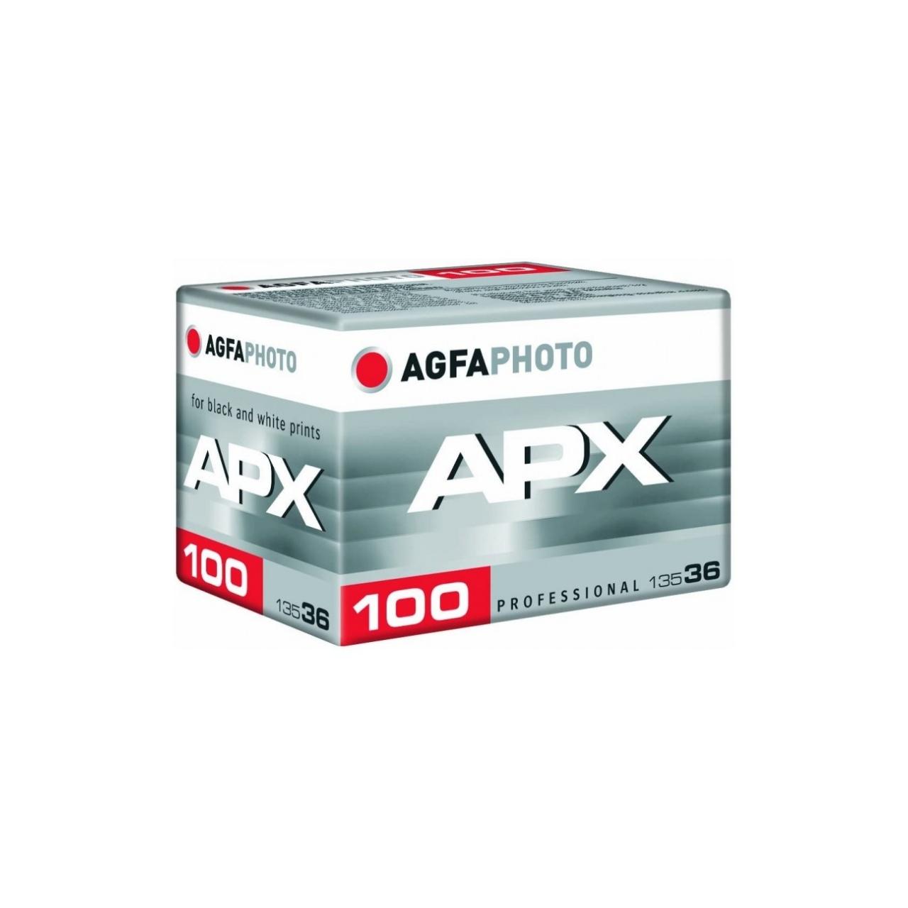 AgfaPhoto APX 100-36 Película Blanco y Negro 35mm