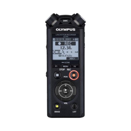 Grabadora Digital de Voz Olympus LS-P4 + Batería recargable, adaptador trípode