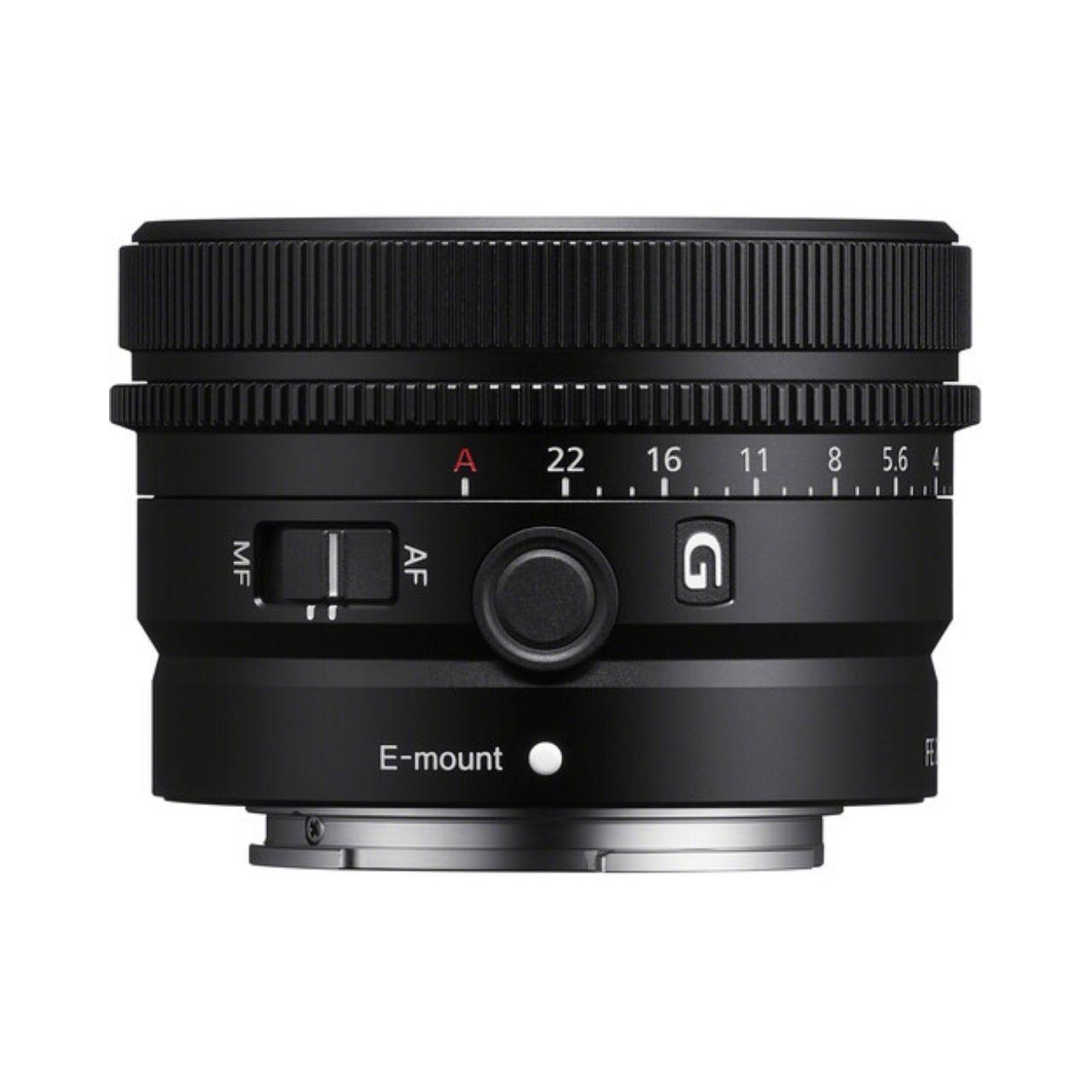 Sony Objetivo FE 50mm f/2.5 G Prime Lens