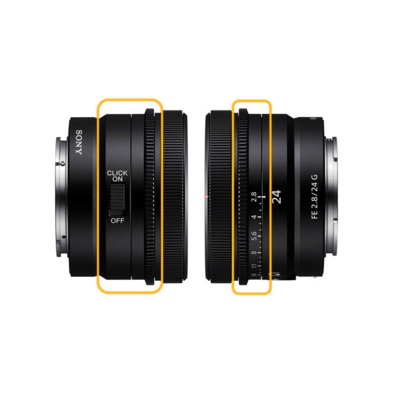 Sony Objetivo FE 24mm f/2.8 G Prime Lens