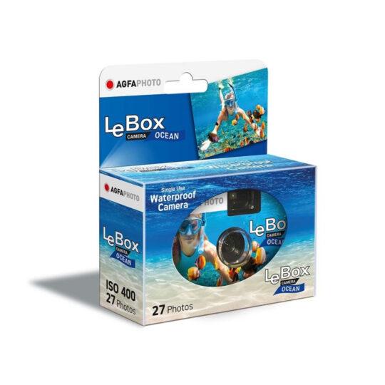 AgfaPhoto LeBox 400-27 Ocean Acuática, cámara de un solo uso