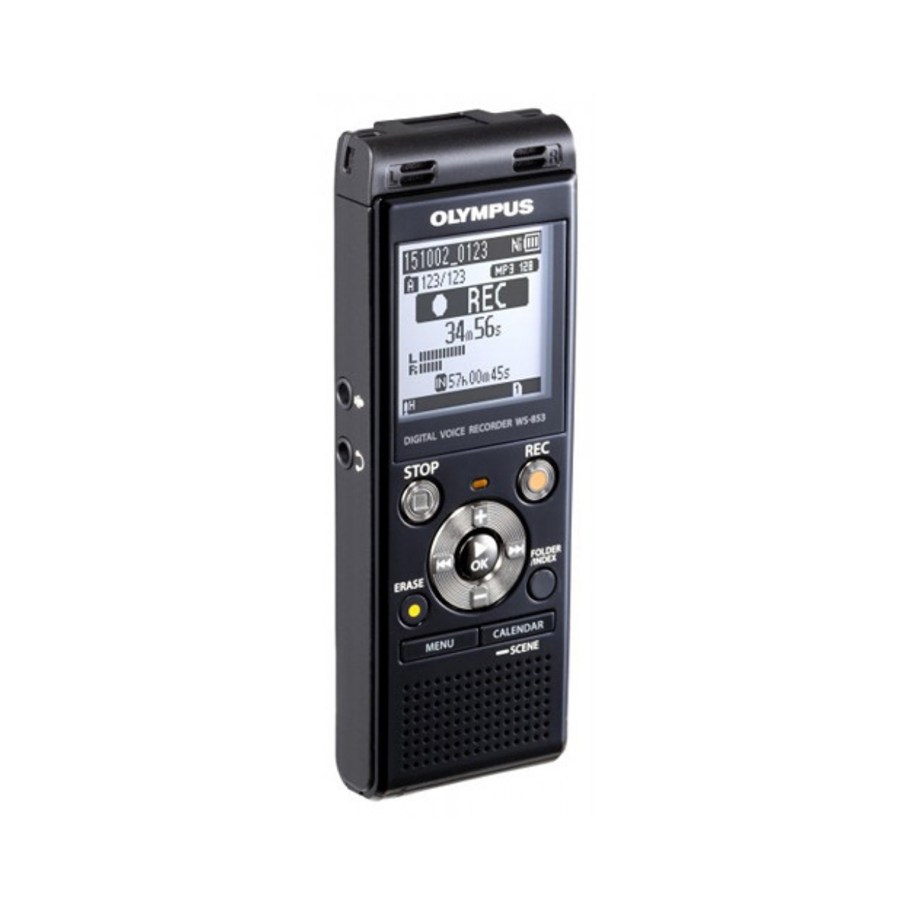 Olympus WS-853 Grabadora Digital de Voz Negro 8Gb + Batería recargable y funda