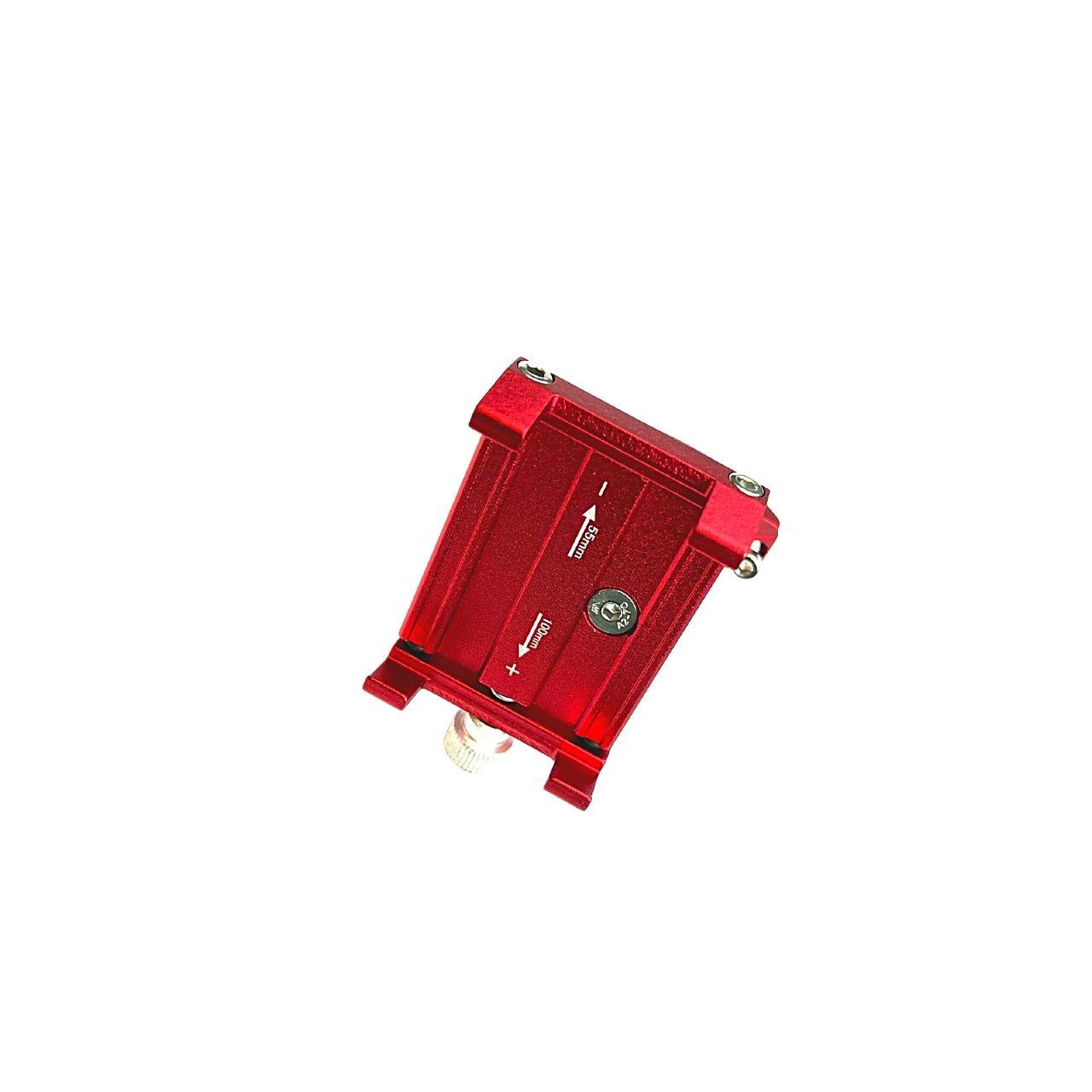 Swiss+Go Accesorio Movilidad Eléctrica ZM029 Soporte para teléfono Rojo