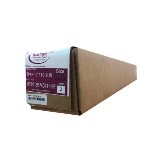 Texprint HR Papel Inkjet sublimación Transfer 105 grs. Caja con 2 Bobinas