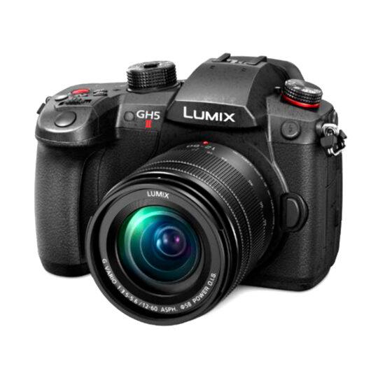 Panasonic Cámara Evil Lumix GH5M2ME Negra + Objetivo12-60mm f/3.5-5.6