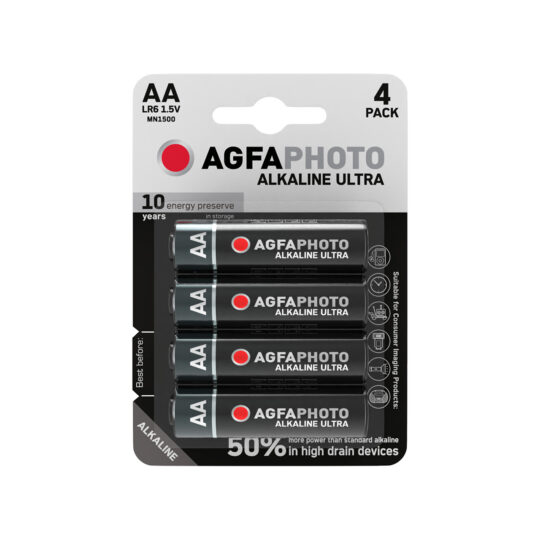 AgfaPhoto Ultra Pila AA, Blíster 4 u.