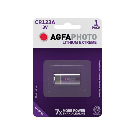 AgfaPhoto Extreme Pila CR123, 3V