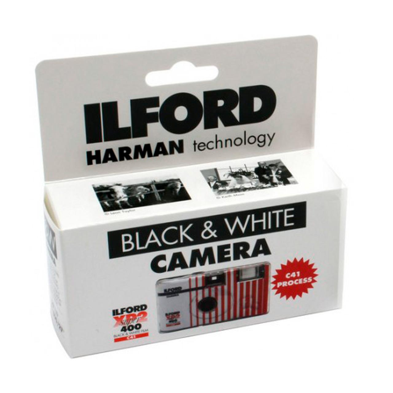 Ilford XP2 400-27 Blanco y Negro, con Flash, Cámara de un solo uso