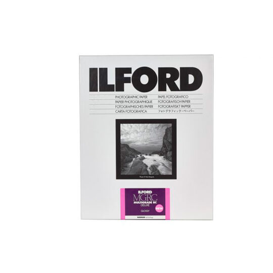 Ilford MGRCDL1M papel fotográfico B&W Multigrado 10x15 cm Brillo 100 Hojas