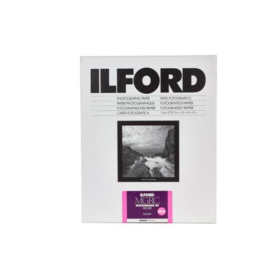 Ilford MGRCDL1M papel fotográfico B&W Multigrado 12,7x17,8 cm Brillo 100 Hojas