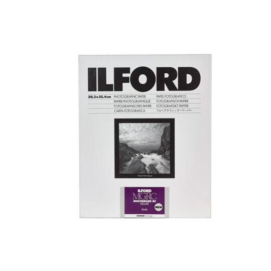 Ilford MGRCDL44M papel fotográfico B&W Multigrado 12,7x17,8 cm Perla 100 Hojas