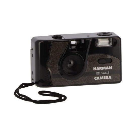 Ilford Cámara Compacta Analógica 35 mm Flash + 2 Film Pan 400 B&W