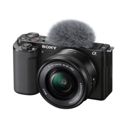 Sony Cámara Compacta DSC ZV-E10 + Objet.16-50 mm VLOG Negra