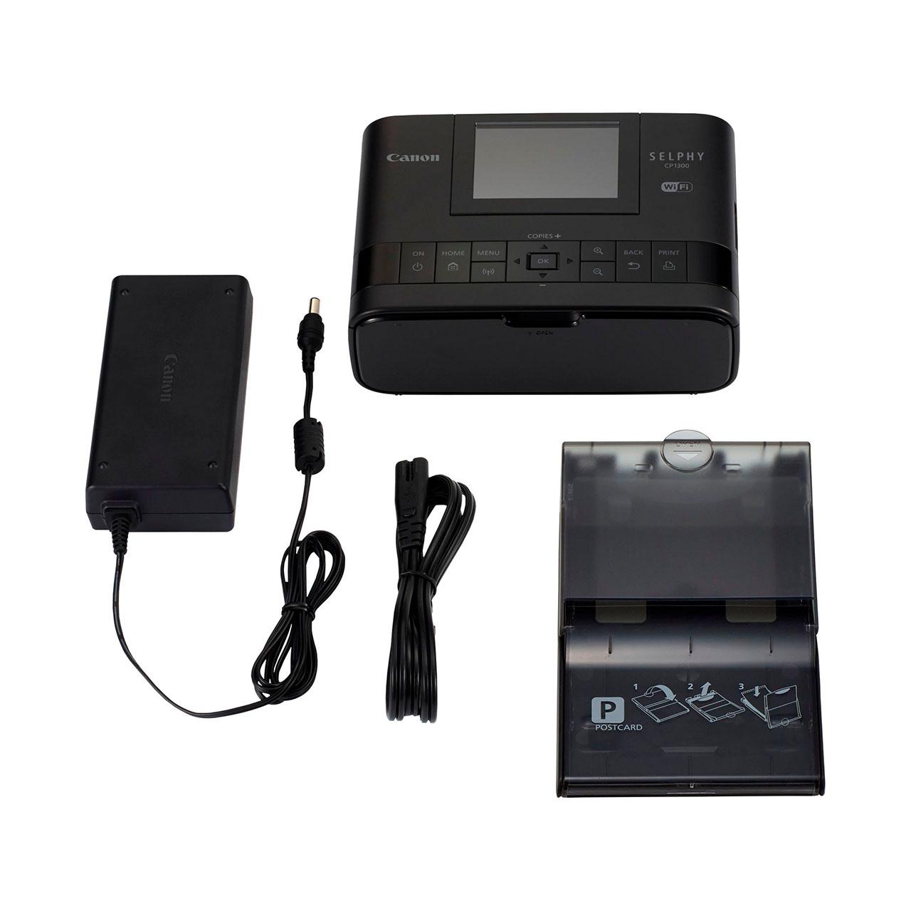Canon Selphy CP1300 Impresora Negra (Liquidación)