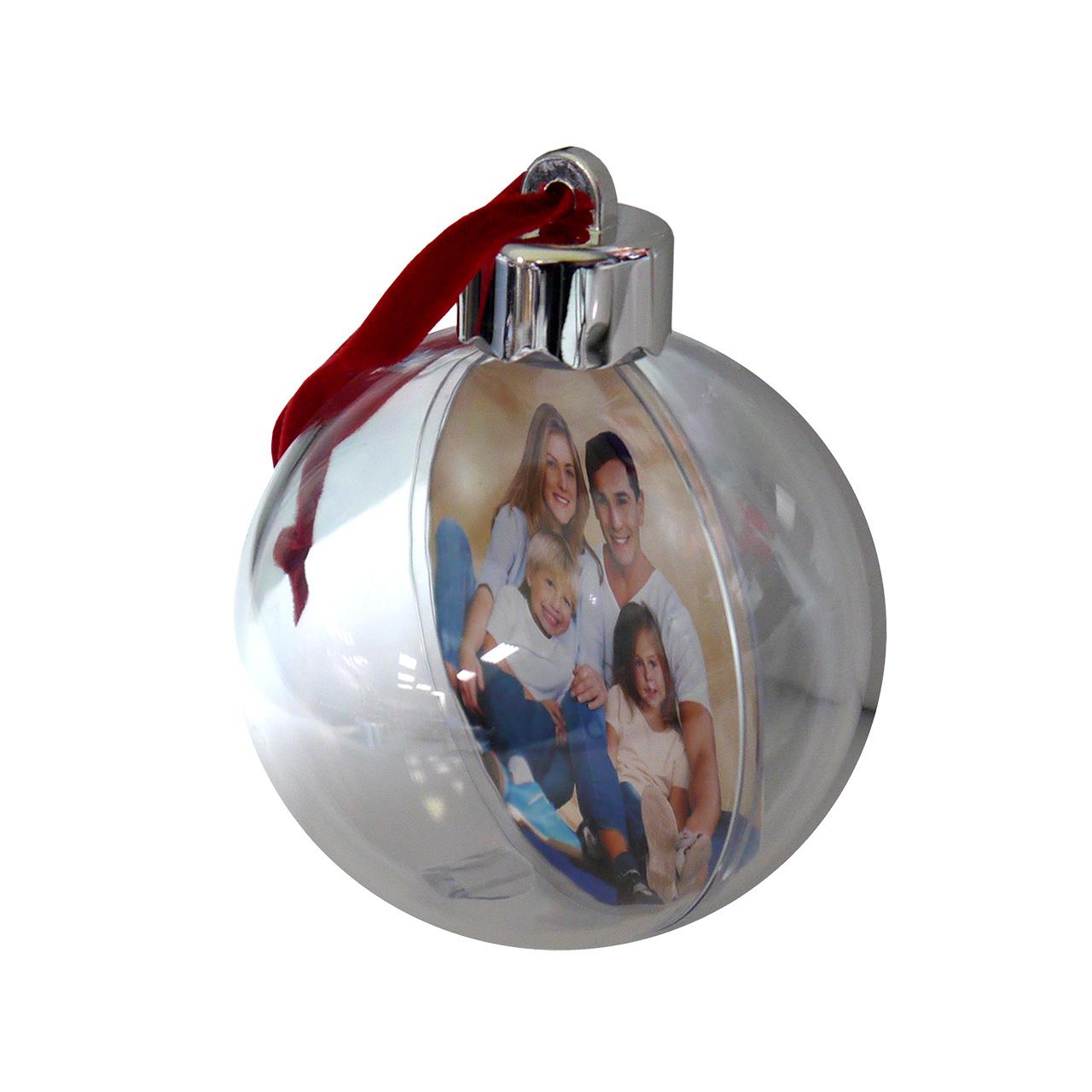 AP Foto Adorno Navidad Personalizable Bola 78 mm