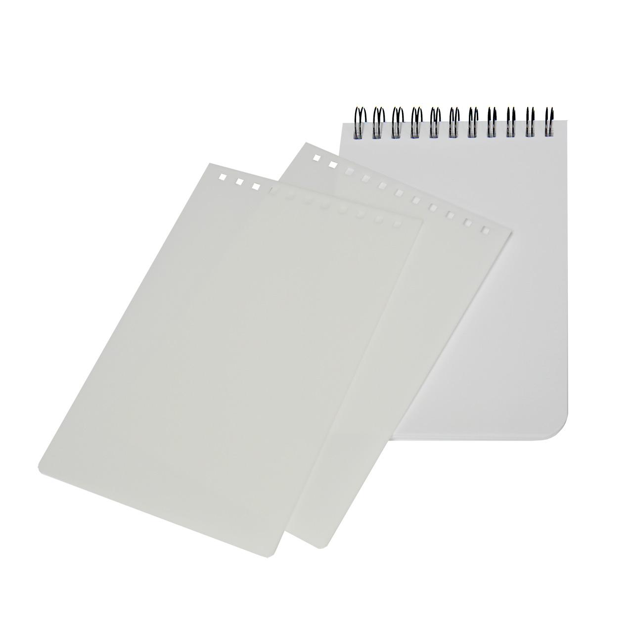 AP Libreta A6 Tapa Plástico sublimable 60 hojas